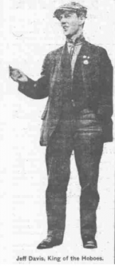 Jeff Davis, pictured in the newspaper the Day Book, on February 21, 1914. (Courtesy of the University of Illinois at Urbana-Champaign Library, via Chronicling America.)